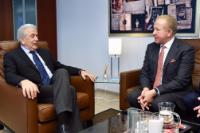 Visit of Behgjet Pacolli, Kosovan Minister for Foreign Affairs, to the EC