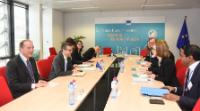 Visit of Iselin Nybø, Norwegian Minister for Research and Higher Education, to the EC
