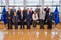 Visite de représentants des organisations philosophiques et non-confessionnelles à la CE