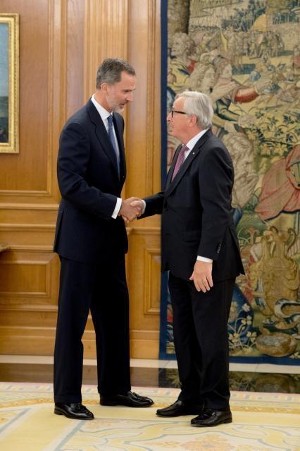 Visit by Jean-Claude Juncker, President of the EC, to Spain