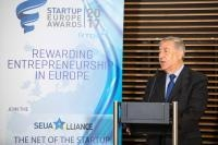 Participation of Karmenu Vella, Member of the EC, at the final of the Green and Water categories of the StartUp Europe Awards (SEUA)