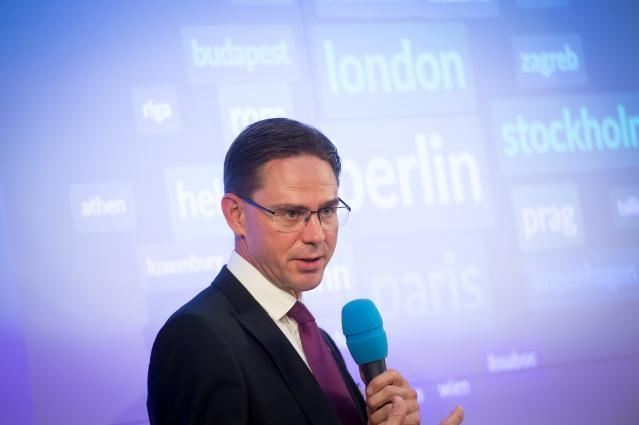 Visit by Jyrki Katainen, Vice-President of the EC, to Austria