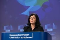 Press conference by Vĕra Jourová, Julian King and Mariya Gabriel, Members of the EC, on new measures to secure free and fair elections and countering terrorism online and offline