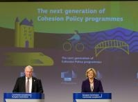 Press conference of Corina Creţu, Member of the EC, and Karl-Heinz Lambertz, President of the Committee of the Regions (CoR)