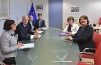 Visit of Arlene Foster, Leader of the Northern Irish Democratic Unionist Party (DUP), to the EC