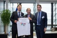 Visit of Zdravko Marić, President of the Organisational Committee of Youth Sports Games, to the EC