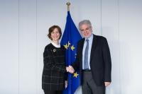 Visit of Nancy Wilson, President and CEO of Relief International, to the EC