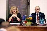 Visit by Corina Creţu, Member of the EC, to Romania