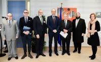 Visite de Menachem Margolin, directeur général de l'Association juive européenne (EJA), à la CE
