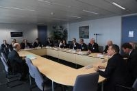 Visit of a delegation of members from the American Chamber of Commerce to the EU, to the EC