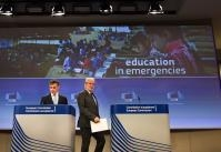 Press conference by Christos Stylianides, Member of the EC, on the report on education in emergencies