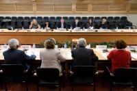 Visite de Valdis Dombrovskis, vice-président de la CE en Espagne