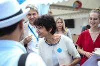 Visit by Marianne Thyssen, Member of the EC, to France