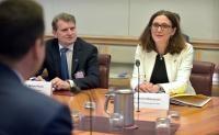 Visit by Cecilia Malmström, Member of the EC, to Australia