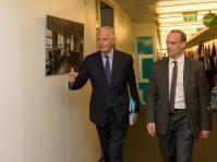 Visite de Dominic Raab, secrétaire d'État britannique à la Sortie de l'Union européenne, à la CE