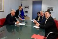 Visit of James Nicholson, Member of the EP and Member of the Ulster Unionist Party (UUP), to the EC