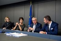 Participation of Jean-Claude Juncker, President of the EC, at the Plenary session of the EP
