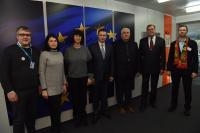 Visit of Baltic farmers, to the EC
