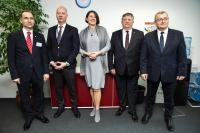 Visit of several european Transport Ministers to the EC