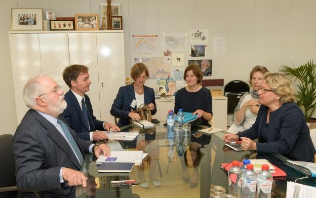 Visit of Svenja Schulze, German Federal Minister for the Environment, Nature Conservation and Nuclear Safety, to the EC
