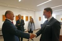 Visit by Jyrki Katainen, Vice-President of the EC, to Germany