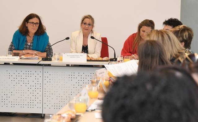 Visit by Cecilia Malmström, Member of the EC, to Spain
