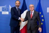 Visit of Edouard Philippe, French Prime Minister, to the EC