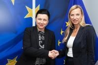 Visit of Juliane Bogner-Strauß, Austrian Federal Minister for Women, Families and Youth, to the EC