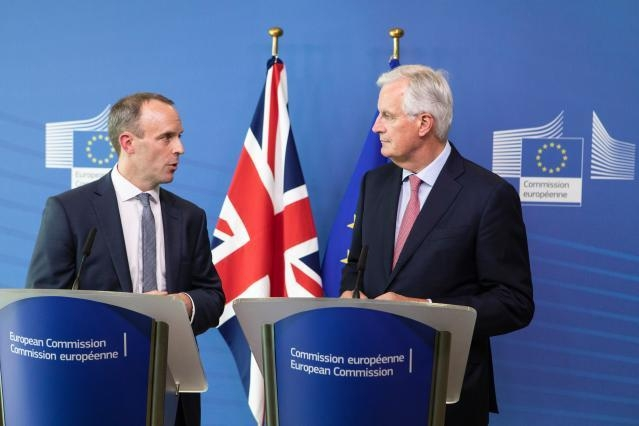 Visit of Dominic Raab, British Secretary of State for Exiting the European Union, to the EC