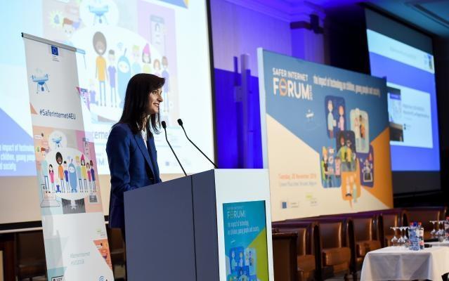 Participation of Mariya Gabriel, Member of the EC, at the Safer Internet Forum