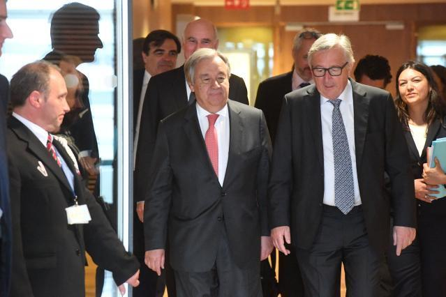 Visit of António Guterres, Secretary General of the United Nations, to the EC