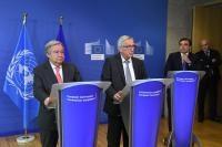 Visite d'António Guterres, secrétaire général des Nations unies
