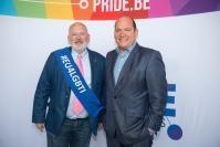 Participation de Frans Timmermans, premier vice-président de la CE, à l'inauguration de la Pride Parade 2018 à Bruxelles