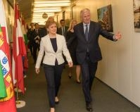 Visite de Nicola Sturgeon, Première ministre du gouvernement écossais