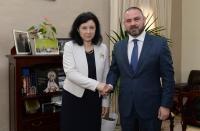 Visite de Vĕra Jourová, membre de la CE, à Malte