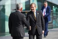 Visit of Federica Mogherini, Vice-President of the EC and Johannes Hahn, Member of the EC college, to the United Kingdom