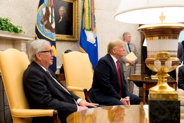Visit by Jean-Claude Juncker, President of the EC, and Cecilia Malmström, Member of the EC, to the United States of America
