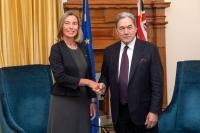 Visit by Federica Mogherini, Vice-President of the EC, to Wellington, New Zealand
