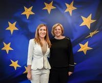 Visit of Nikolina Angelkova, Bulgarian Minister for Tourism, to the EC