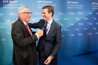 Particpation of Jean-Claude Juncker, President of the EC, at the European People's Party Summit ahead of the Informal Meeting of Heads of State or Government in Austria