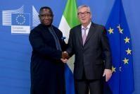 Visit of Julius Maada Bio, President of Sierra Leone, to the EC