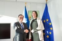 Visit of Teodoro L. Locsin Jr, Philippine Secretary for Foreign Affairs, to the EC