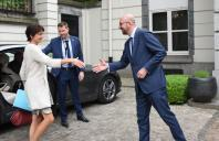 Visit by Marianne Thyssen, Member of the EC, to Belgium