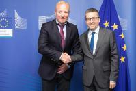 Visit of Antonio Campinos, CEO of the European Union Intellectual Property Office, to the EC