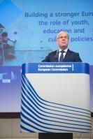 Conférence de presse de Tibor Navracsics, membre de la CE