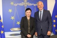 Visit of Josef Moser, Austrian Federal Minister for Constitutional Affairs, Reforms, Deregulation and Justice, to the EC