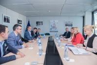 Visite d'un groupe d'organisation non-gouvernementale actif dans le domaine du transport, à la CE