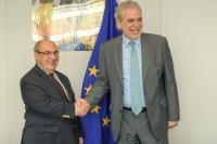 Visit of António Vitorino, elected Director General of the International Organization for Migration (IOM), to the EC