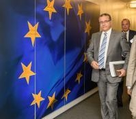 Visit of Mohamed Boussaid, Moroccan Minister for Economy and Finance,  to the EC
