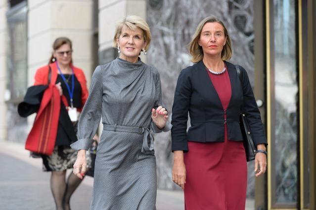 Visit by Federica Mogherini, Vice-President of the EC, to Sydney, Australia